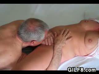 zien orale seks mov, likken gepost, nieuw grootmoeder