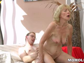 mamies, matures, vieux + jeune, hd porn