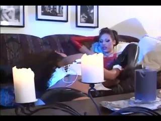 nominale speelgoed, kwaliteit zoenen video-, meisje op meisje scène