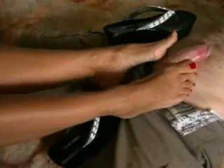 Aleman platform flip flops shoejob