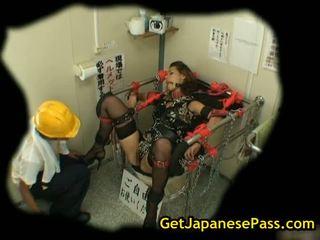 Maria ozawa bound and in hot lingerie