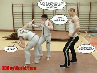 Kung fu guys 3d 同性恋者 漫画 animated comics
