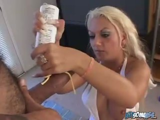 Holly Victoria Spencer deserves a hot cumshot on her mouth after a nice blow