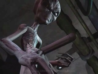 3D Animation Alien Abduction 1