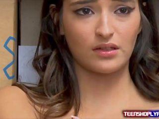 brunette, nominale tiener video-, nominale pijpbeurt actie