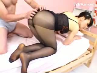 vol panty video-, chinees tube, aziatisch