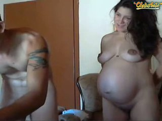 Pregnant Couple Nude On Cam