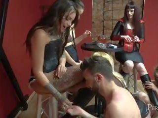 nominale slet scène, groot brits gepost, mooi femdom video-