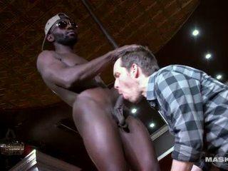 sucking, big dick, muscle
