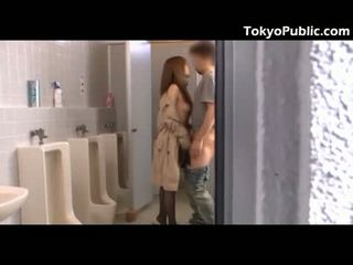 Hot Japanese Fucks Guys In The Public Restroo