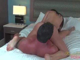 more brunette movie, rated fitness, real blowjob mov