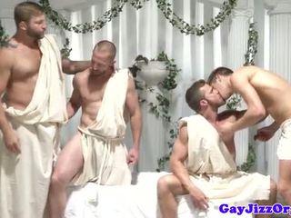 nieuw assfucking film, homo- film, spier neuken