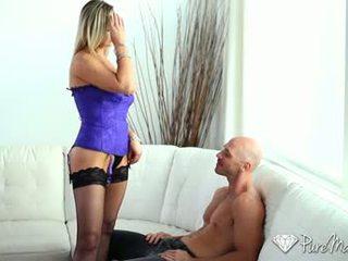 seks oral menonton, baru seks faraj lebih, melihat caucasian