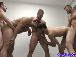 groupsex movie, gay clip, all muscle scene