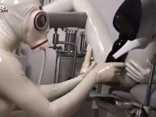 FUN MOVIES German Amateur Latex fetish hospital le