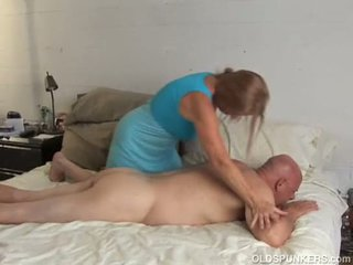 Horny old spunker is super hot fuck and loves the taste of cum