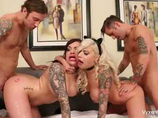 Vyxen Steel's hot foursome