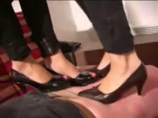 femdom scène, fetisch video-, trampling