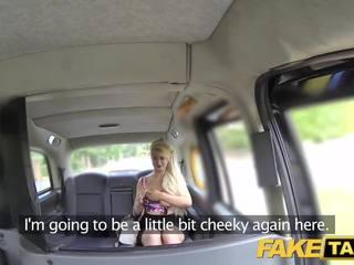 Fake Taxi Blondine Riesige Titten