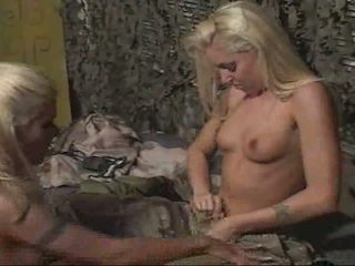 Lesbians in the army Drop and lick me 20!