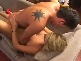 Cum craving Vicky Vette gets sprayed with awesome jizz she really enjoyed