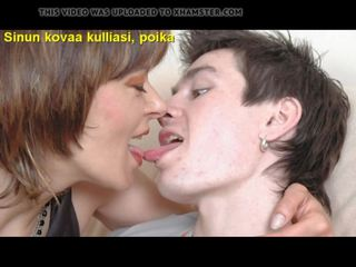 Slideshow with Finnish Captions Mom Helena 1: Free Porn 9d