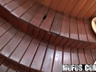 Mofos - Public Pick Ups - Banging Her Coozy in the Jacuzzi Starring Electra Angel
