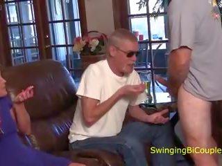 swingers, een milfs, grote pik