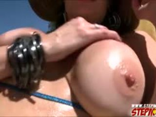 Cute Evilyn Fierce Busted Her Stepmom Sucking Her Bfs Cock