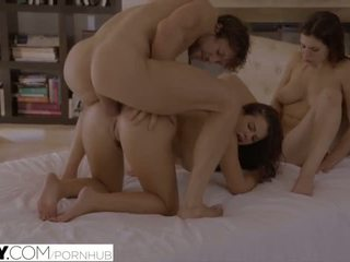 brunette, doggystyle, riding