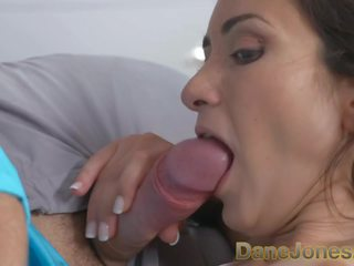 Dane Jones Petite Freckled Italian Girl gets Creampie