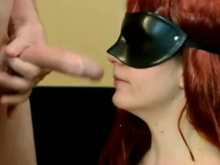 Blindfolded Facefuck