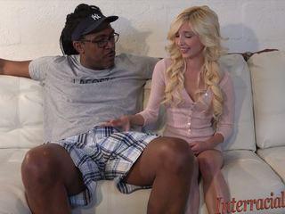 hq blondes watch, teens, interracial