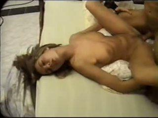 brunette actie, vaginale sex kanaal, ideaal cum shot