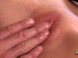 controleren brunette klem, groot orale seks seks, vaginale sex actie