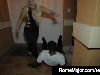 Black Dick Rome Major Bangs Bedeli Buttland's Big Cuban Ass!