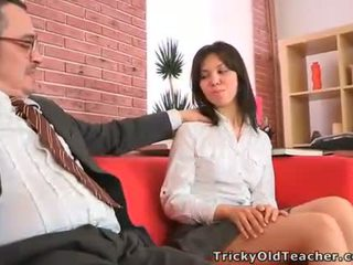 Old teacher is ravishing sweet babes muff