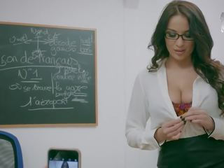 Brazzers Back To University - Big Tit Librarian Wants Some Cock - Brazzers
