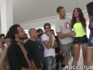 Valentina Nappi Gangbanged By Her Fans During Porn Boot Camp