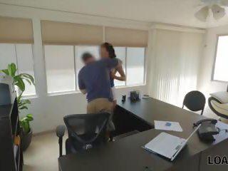 zien interview neuken, controleren verborgen cams klem, nieuw agent