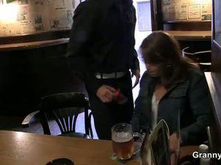 Régi szuka picked fel -ban a bár és screwed