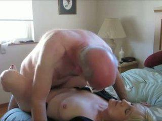grootmoeder mov, controleren oma thumbnail, heet seks