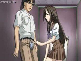 Anime Babe Gets Holes Fingered