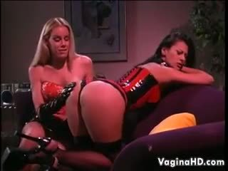 Lesbians In Latex Like To Abuse Each Other