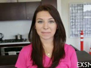 brunette, doggystyle thumbnail, kindje video-