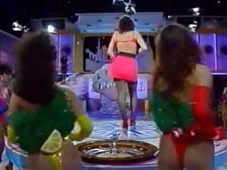 Ιταλικό τηλεόραση σόου - tutti frutti - kandidatin sabine