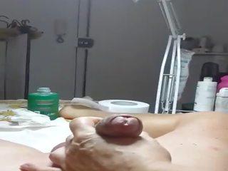 masseuse film, vers parlor seks, knipperende klem