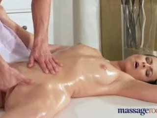 Massage Rooms Hot Milf Sucks and Fucks Young Guys Big Hard Dick Video
