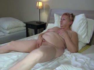 OldNanny Hot stepmom lesbian fuck with strapon