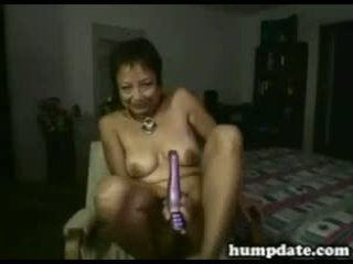 Asian Mature Babe Toying Her Pussy